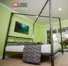 Metal Canopy Bed by Diamond Canopy Steel Bed Frame Boltz Steel Furniture