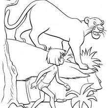 jungle book 3 coloring pages hellokids