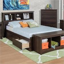 twin xl bookcase headboard twin xl headboard twin espresso brown platform bed w headboard and