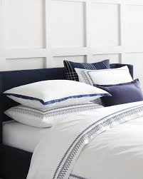 White Master Bedroom Navy And White Master Bedroom Laurel Duvet Cover Via Serena