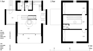 modern house floor plans with pictures modern small house in czech by domesi