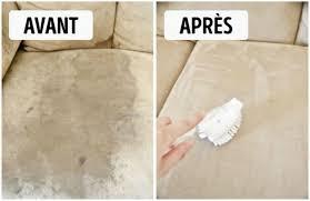 bicarbonate de soude canapé 12 astuces utiles pour le nettoyage de ta maison