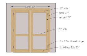 Sliding Barn Door Construction Plans Double Shed Doors Building Plans Barn Doors Pilotproject Org