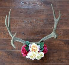 rustic chic antler decor diy after in the woods