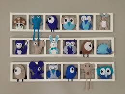 cadre deco chambre bebe deco murale pour la chambre bebe cadre mural figurines en decoration