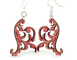 green tree earrings swaying vines earrings by green tree jewelry made in the usa
