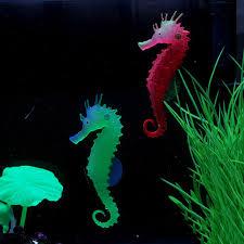 sale 1pcs artificial glow sea aquarium fish tank