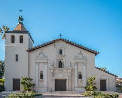 the many churches of mission santa clara de asis california