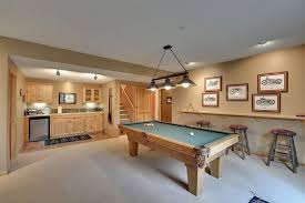 Pool Room Decor Basement Pool Room Ideas Family Room Traditional With Pool Table