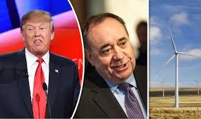Alex Salmond Meme - alex salmond vs donald trump war of words after windfarm appeal is