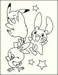 free printable pokemon coloring pages for kids color zini