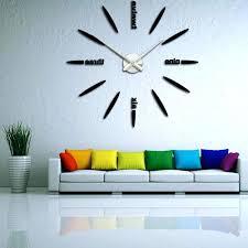 Home Decor Clocks Wall Clocks Decor Clock Ideas Interior Design Charming Large