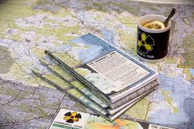 Paper Town Map The First Full Detailed Map Of The Chornobyl Zone With Places Of