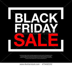 black friday sale sign creative glossy text exclusive offers on stock vector 460345702