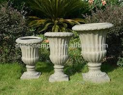 Urn Planters With Pedestal Garden Urn Planter Wholesale Garden Urn Planter Wholesale