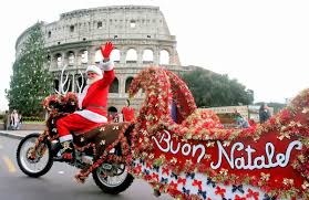 babbo natale father christmas in italy grand voyage italy