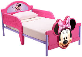 Minnie Mouse Toy Organizer Disney Minnie Mouse 3d Footboard Toddler Bed Amazon Co Uk Baby