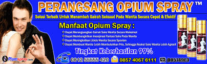 obat perangsang wanita ampuh opium spray asli