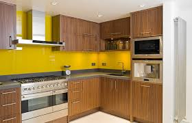 trendy design of small kitchen home ideas with dark brown pine l