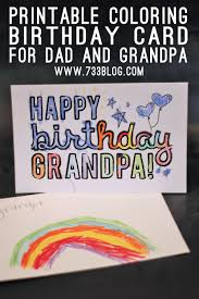 8 best images of happy birthday dad card printable and foldable
