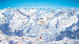 Alps Mountains Map Ski Resort Plan De Corones Kronplatz In The Alps Italy