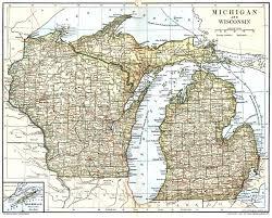 University Of Wisconsin Map by Wisconsin Maps U0026 Gazetteers Wigenweb Project
