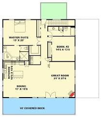 Mountain Home Designs Floor Plans Three Bedroom Carriage House Or Mountain Home 35513gh