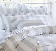 stylish enchanting striped duvet covers shams for a fancy bedroom