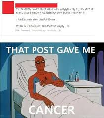 Bleeding Eyes Meme - it hurts cancer know your meme