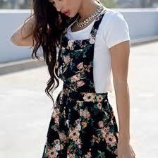 dress floral black summer dress summer cute dress