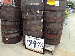 Half Barrel Planters by Whiskey Barrels From The Home Depot These Are Perfect For