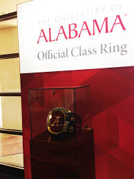alabama class ring ua supply store hosts new ring ceremony dateline alabama