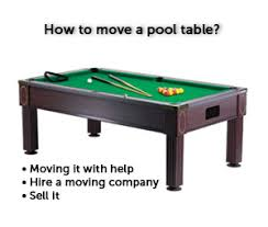 pool table moving company how to move a pool table moving guru guide