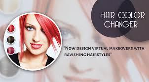 virtual hair colour changer hair color changer queenloft apps