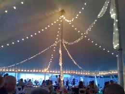 wedding tent lighting lights