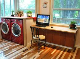kitchen cabinet desk ideas build a simple kitchen desk with hgtv hgtv