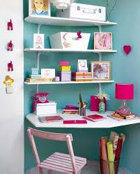 Girls Bedroom Decorating Ideas by Attic Girls Bedroom Design In White Turquoise Blue And Pink Colors