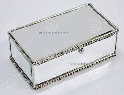 decorative tissue box modern mirrored storage box jewelry box desktop decoration box in