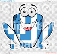 Greek Flag Background Clipart Greek Flag Frog Royalty Free Vector Illustration By