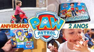 paw patrol birthday party 2 cake u0026 toys paw patrol chase