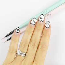 boo halloween nail art nail that accent