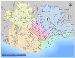 Gang Map Usa by Santa Barbara Crime Activity Reports