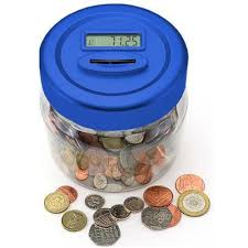coin counting jar moneyboxes mince his words