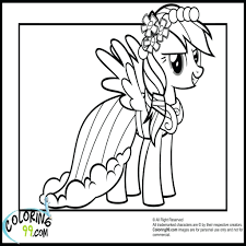 top baby rainbow dash coloring pages