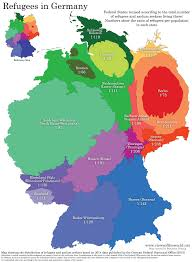 World Map Germany by Refugees In Germany Views Of The World