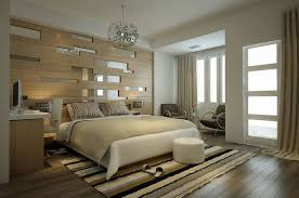 contemporary bedroom ideas on a budget orange blanket brown wall