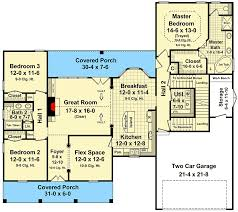 great room floor plans vaulted great room 51070mm architectural designs house plans
