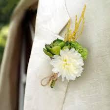 Boutonniere Prices 5pcs White Green Color Artificial Succulent Flower Bridal
