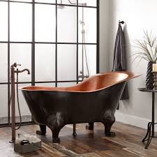 clawfoot tub bathroom designs copper tubs freestanding u0026 clawfoot signature hardware