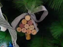 diy christmas decorations creative wine cork craft samar kai